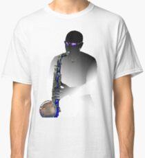 Blues Saxophone Man  Classic T-Shirt