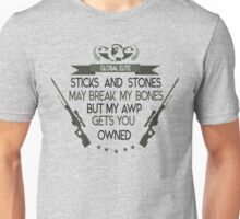 CS:GO AWP Owned Unisex T-Shirt