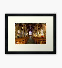 Inside St. Michael's Cathedral Framed Print
