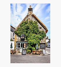 The Royal Oak Pub Photographic Print