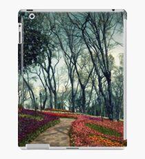 flowers an trees iPad Case/Skin