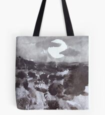 Moon Over New Mexico Tote Bag