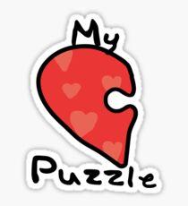 Love Puzzle - My Puzzle Sticker