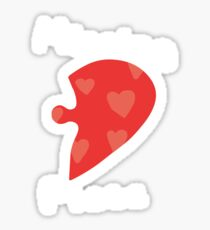 Love Puzzle - Missing Piece Sticker