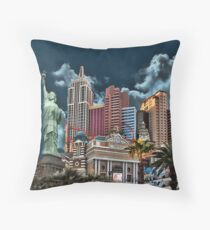 -♂ ♀ ∞ ☆ ★ New York New York - Las Vegas--Throw Pillow & VARIOUS APPAREL..♂ ♀ ∞ ☆ ★ Throw Pillow