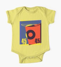 Pop Art 45 Vinyl Record Kids Clothes