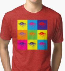 Pop Art 1200 Turntable Tri-blend T-Shirt