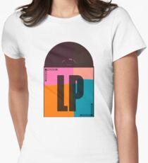 Album LP Pop Art Womens Fitted T-Shirt
