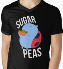 Catbug -- Sugar Peas!! Men's V-Neck T-Shirt