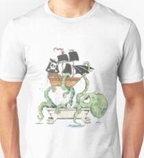 Kraken in the Tub T-Shirt