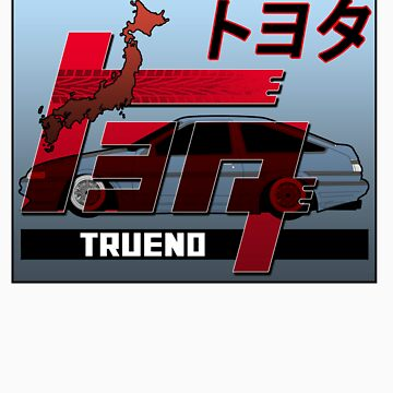 TRUENO Toyota Drift King by ArtGear