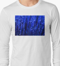 Blue Macro Moss Long Sleeve T-Shirt