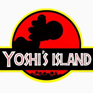 Yoshi's Island by SatansHamsters