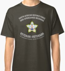 South African Defence Force Veteran (Grey Text) Classic T-Shirt