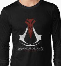 Mandalorian's Creed (black) Long Sleeve T-Shirt
