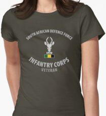 SADF Infantry Corps Veteran Women's Fitted T-Shirt