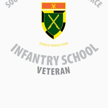 SADF Infantry School (Command Formation Bar) Veteran by civvies4vets