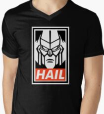 HAIL megatron! Mens V-Neck T-Shirt