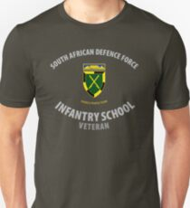 SADF Infantry School (Western Cape Formation Bar) Veteran T-Shirt