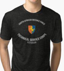 SADF Technical Service Corps Veteran Shirt Tri-blend T-Shirt