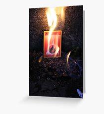 Fire Energy Greeting Card
