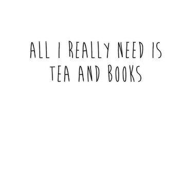 Tea & Books by booknerdmerch