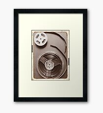 Analogue Memories Framed Print
