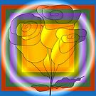 Three flowers by IrisGelbart