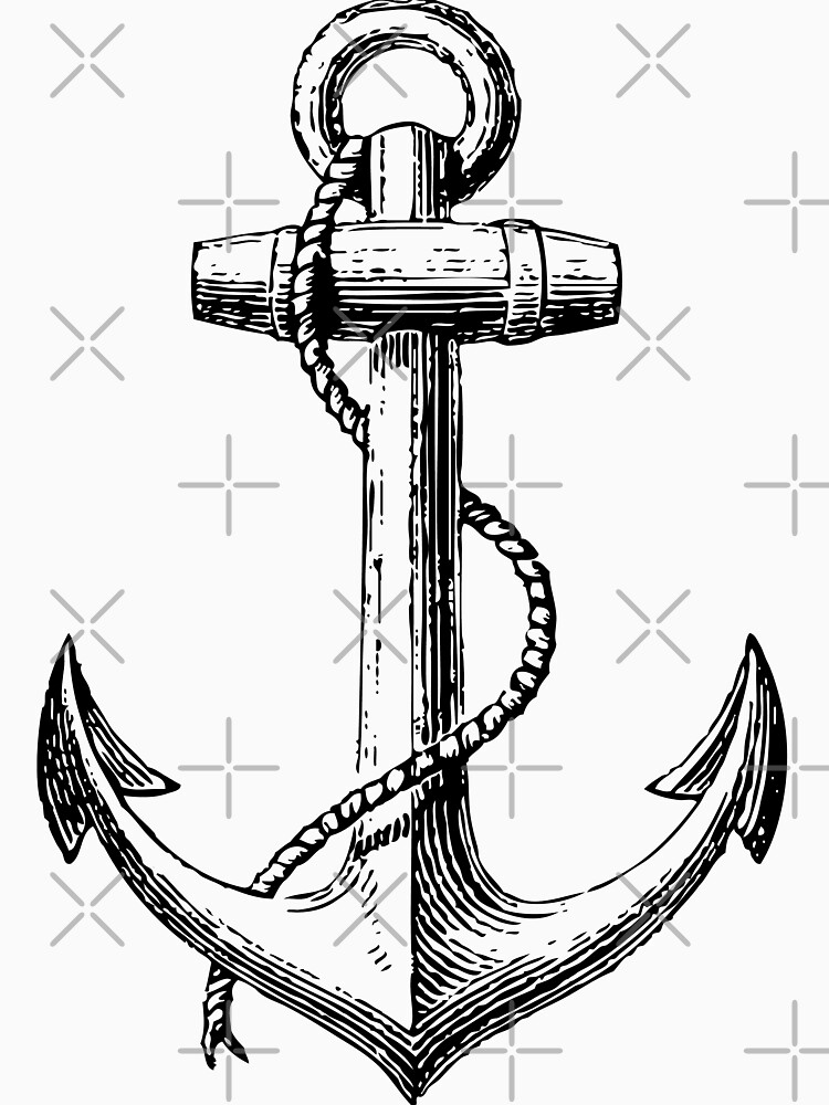 Classic Anchor by cartoon
