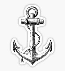 Classic Anchor Sticker