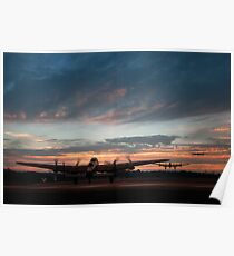Lancasters Depart Poster