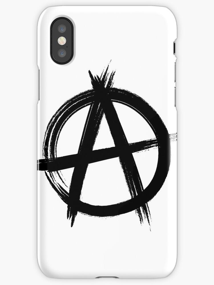 Circle-A Anarchy Symbol (light t-shirt version)\