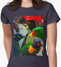 Birds of a Different Feather Women's Fitted T-Shirt