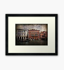The Spirit of Venice Framed Print