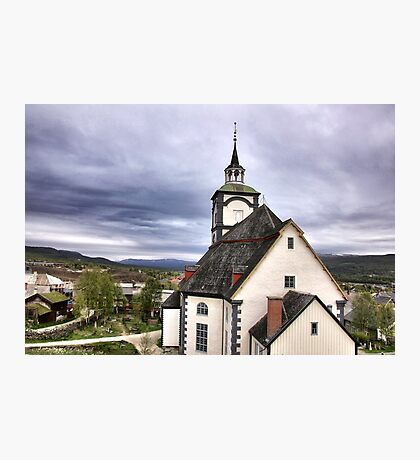Church in the sky Photographic Print
