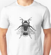 Black Bumblebee Illustration T-Shirt