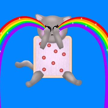 Nyan Cat Cry Rainbow by Cristianvan