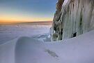 Sunset Drift - Lake Superior by Michael Treloar