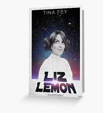 Liz Lemon is a princess ! Greeting Card