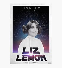 Liz Lemon is a princess ! Photographic Print