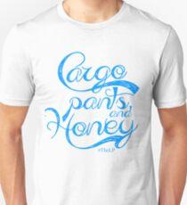 Cargo Pants and Honey (Blue) T-Shirt