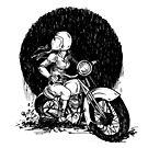 Women Who Ride- We like Dirt and We got Titties by Amanda Zito