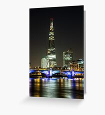 Shards of Light, London Greeting Card