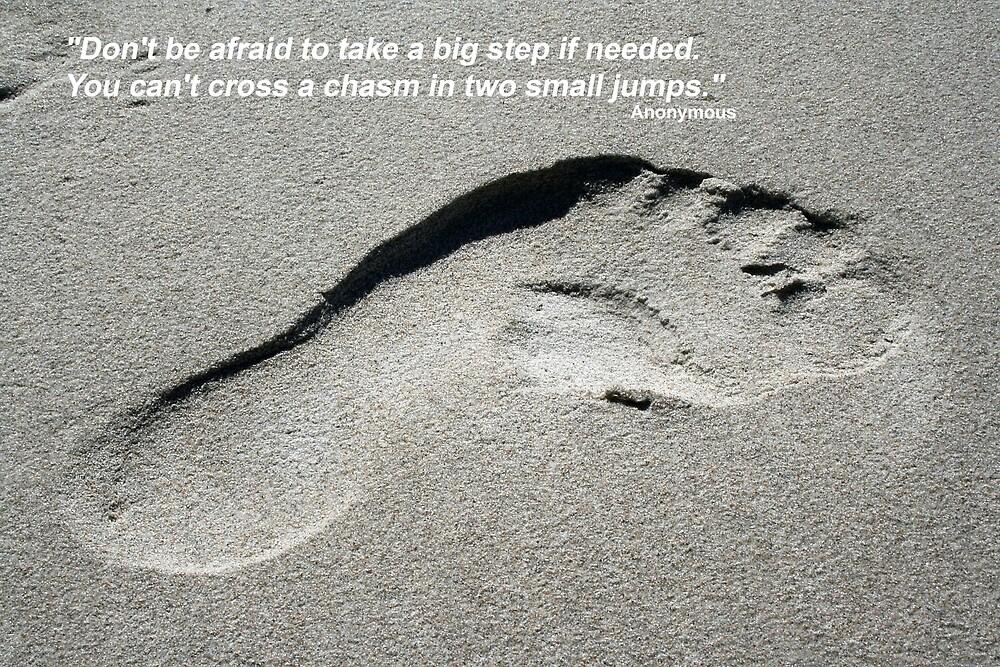 Taking a Big Step by Rob Chiarolli