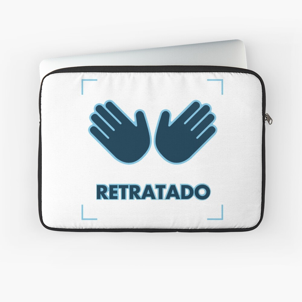 Retratado -- Pedrerol  Laptop Sleeve