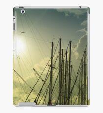 boat masts iPad Case/Skin
