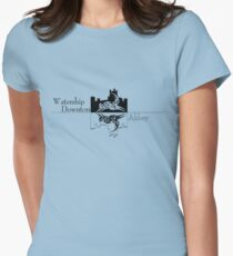 Watership Downton Abbey Women's Fitted T-Shirt