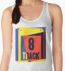 Pop Art 8 Track Tape Women's Tank Top