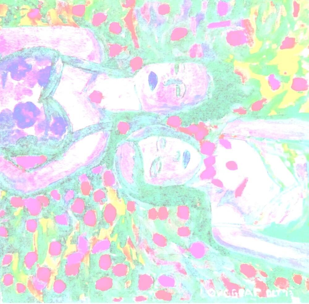 girls laying by mathew imanuel