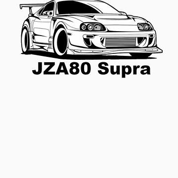 JZA80 Supra by DriftWood7